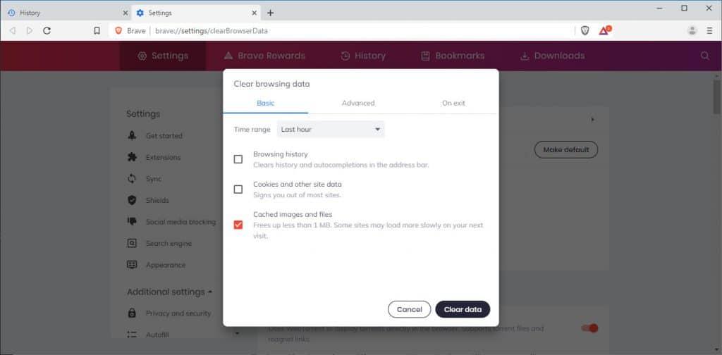 Как очистить кеш браузера (для всех браузеров)