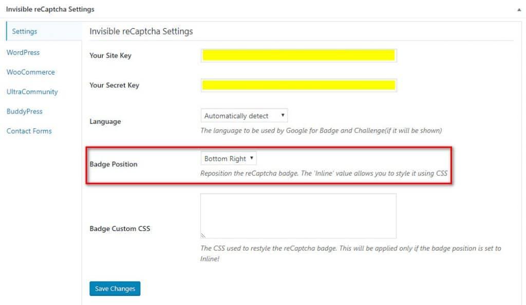 Повышение безопасности WordPress с помощью Invisible reCAPTCHA