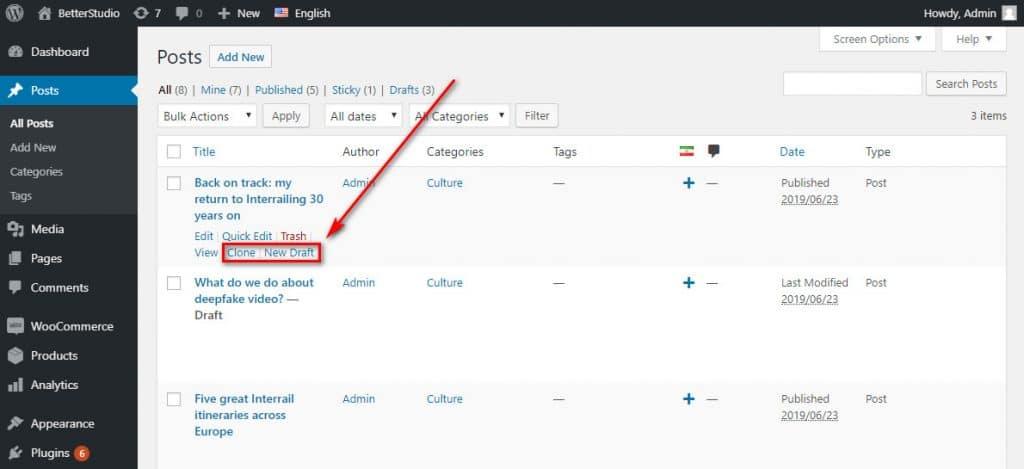 Как создать дубликат страницы или сообщения WordPress? (Плагин)