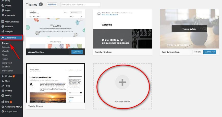 Топ-3 лучших бесплатных услуг по установке тем WordPress