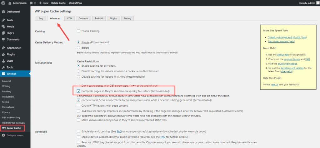 Как включить сжатие GZIP в WordPress? (Полное руководство)