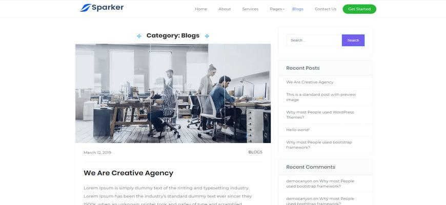 35+ лучших тем для блогов Elementor для WordPress 2020