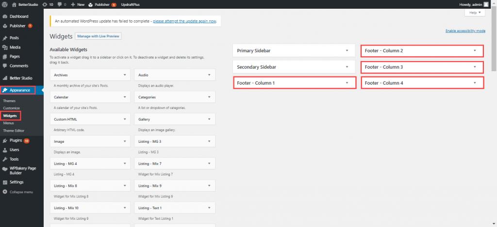 Как удалить Powered by WordPress из нижнего колонтитула (3 способа)