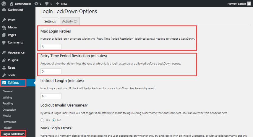 Как использовать блокировку входа в WordPress (ограничение попыток входа в WordPress)
