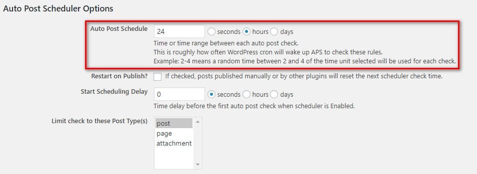 Как запланировать массовые публикации в WordPress?