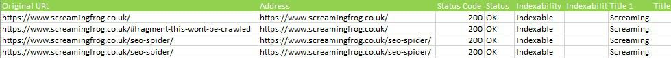 Как использовать режим списка   Screaming Frog SEO