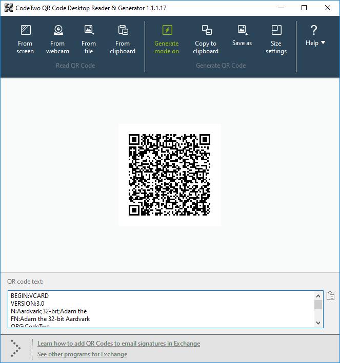 Карты Vcards в подписях электронной почты и QR-коды VCards - зачем и как их использовать?
