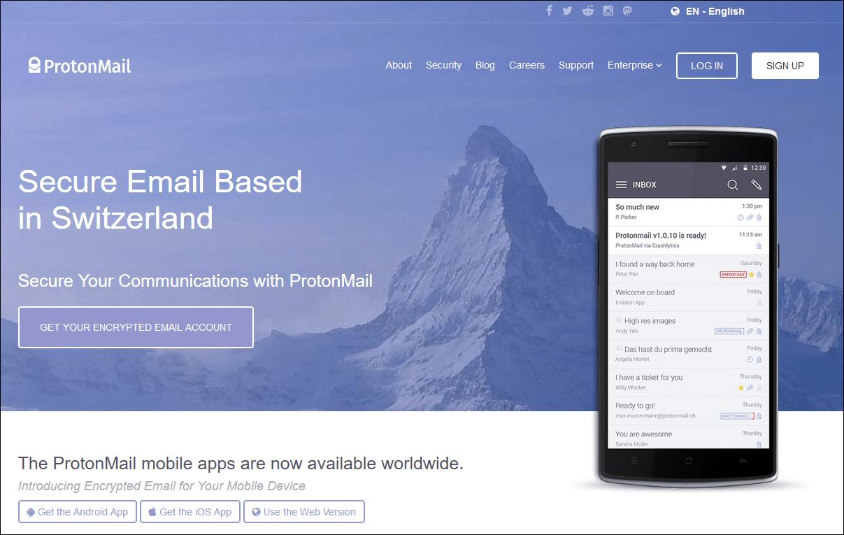 Бесплатные почтовые службы, не требующие подтверждения по телефону