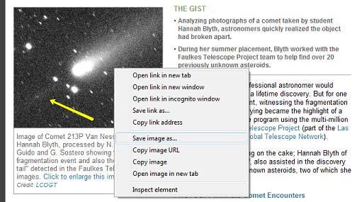 Как скопировать текст и изображения с веб-страницы