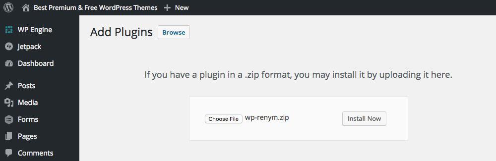 Написание простого плагина WordPress, руководство для начинающих