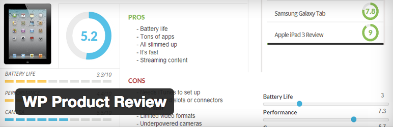 Плагин WP Product Review для WordPress