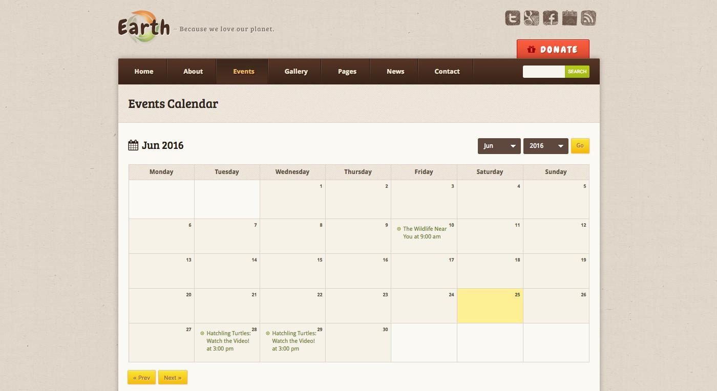 Добавьте события в WordPress как профессионал с календарем событий