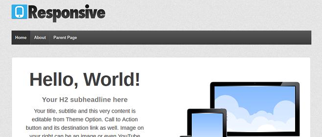 Коллекция бесплатных и премиум адаптивных тем WordPress