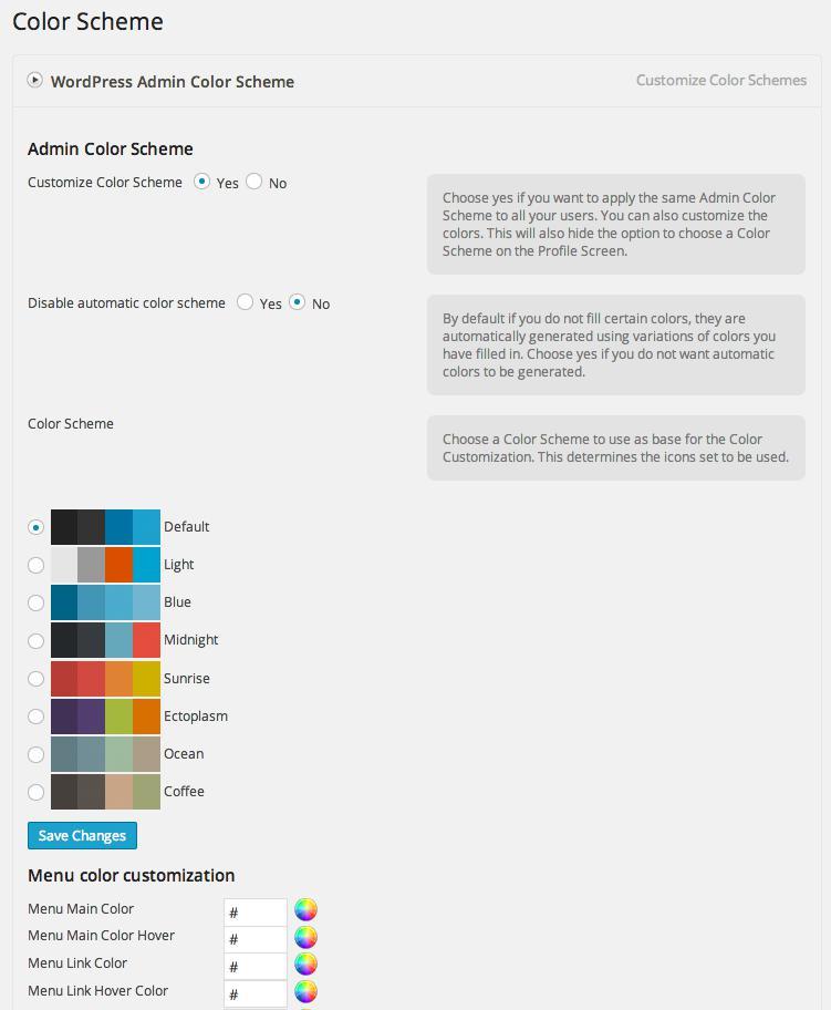 Настройте админку WordPress с помощью White Label Branding
