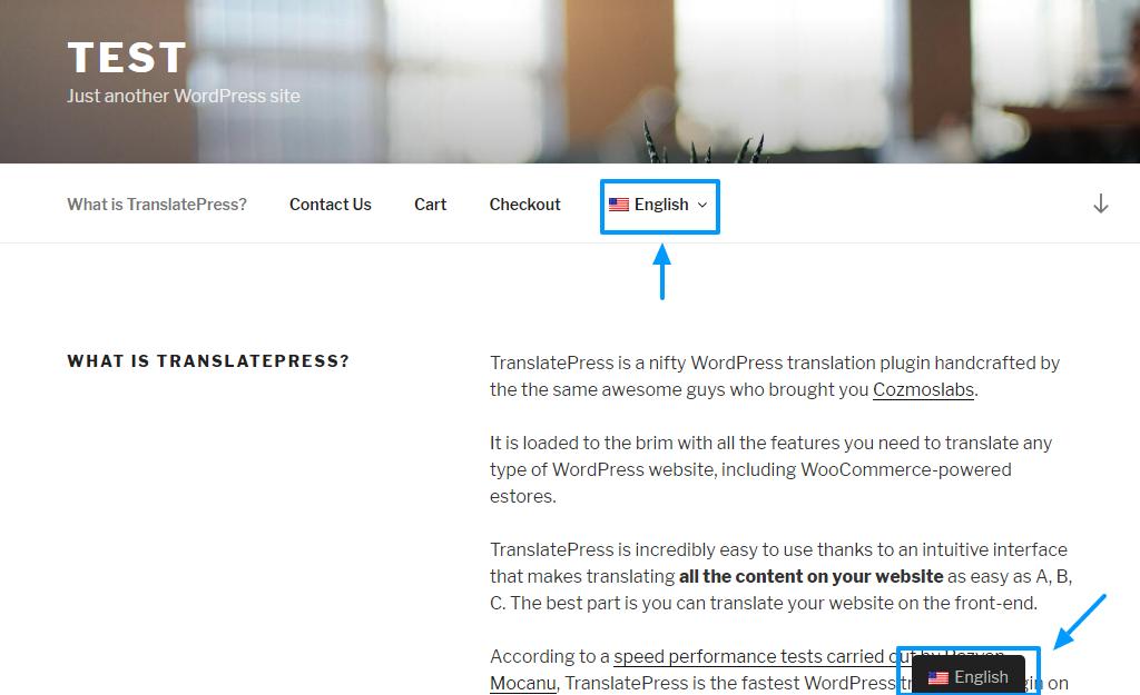 Руководство по плагину перевода TranslatePress WordPress