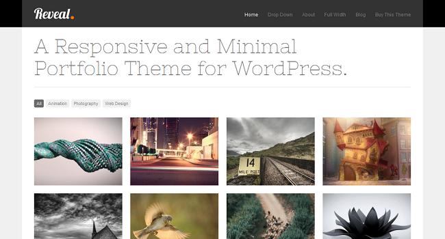 10 элегантных тем WordPress AJAXED