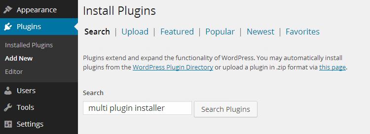 Как установить плагины WordPress с помощью установщика нескольких плагинов