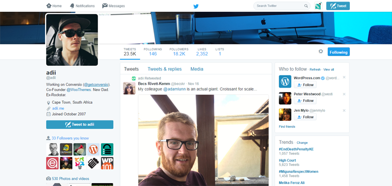 30 профессионалов WordPress, на которых стоит подписаться в Twitter