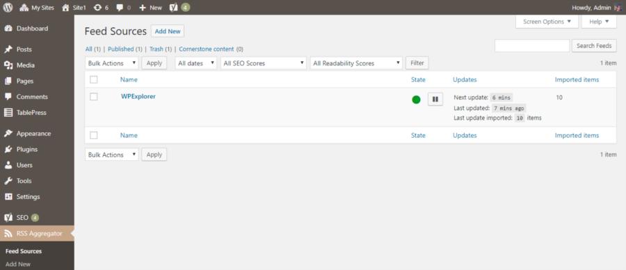 WP RSS Aggregator: комплексное решение для отображения RSS-каналов и автоблогов