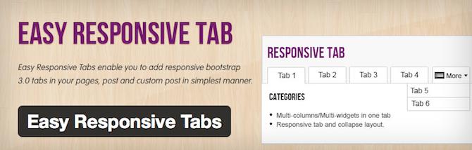 Минимизируйте беспорядок на сайте и улучшите взаимодействие с вкладками для WordPress