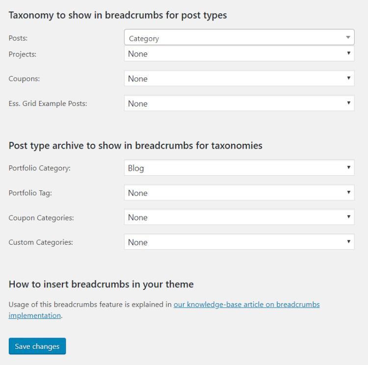 Как добавить хлебные крошки в WordPress и почему это важно