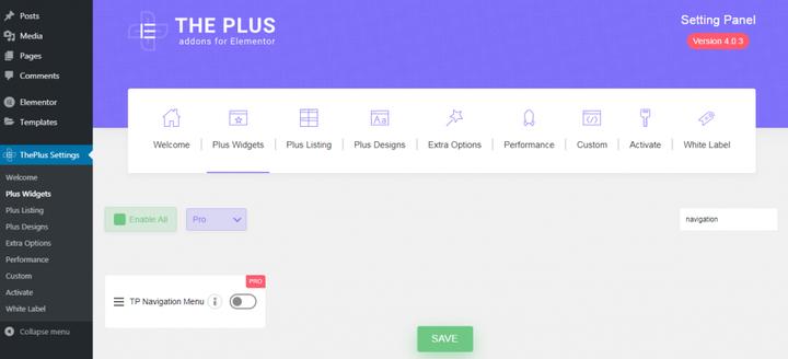 Elementor - Как создать мега меню с помощью дополнений Elementor и Plus