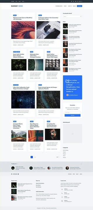 Лучшие бесплатные темы WordPress, доступные в 2021 году