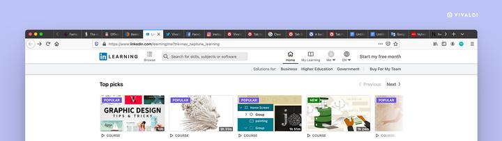 Как управлять слишком большим количеством вкладок браузера в Chrome, Firefox, Brave и Vivaldi