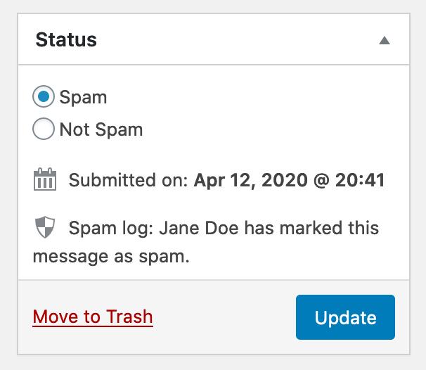 Как настроить Akismet для Contact Form 7, что бы улучшить защиту от спама?